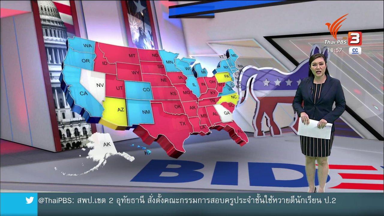 ข่าวค่ำ มิติใหม่ทั่วไทย - วิเคราะห์สถานการณ์ต่างประเทศ : ศาลสูงสุด ทางออกสุดท้ายเก้าอี้ผู้นำสหรัฐฯ