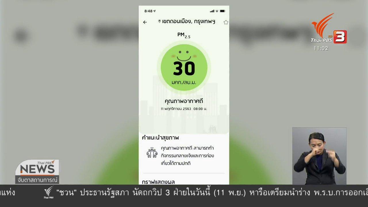 จับตาสถานการณ์ - เตือนรับมือปัญหา PM 2.5