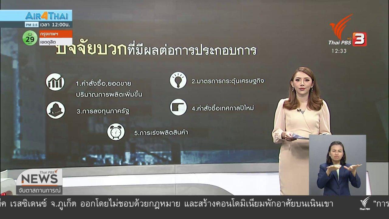 จับตาสถานการณ์ - วัคซีนเศรษฐกิจ : ความเชื่อมั่นภาคอุตสาหกรรมไทย