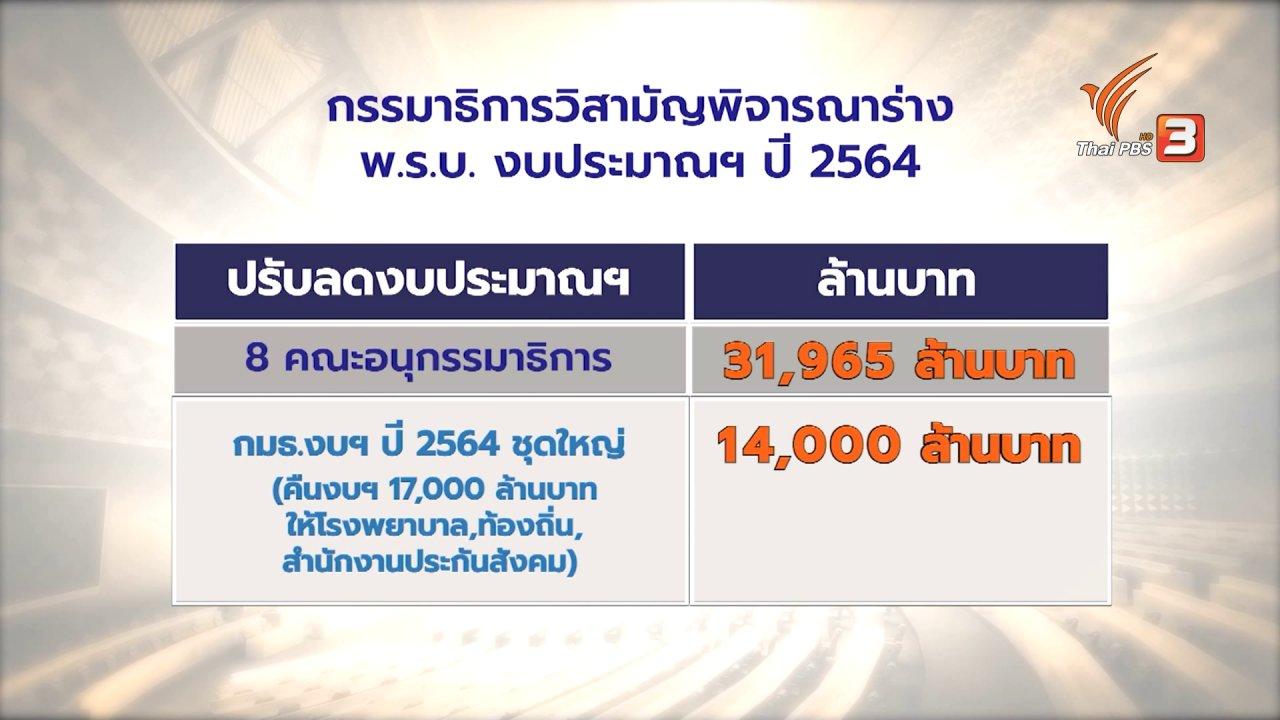 ข่าวเจาะย่อโลก - จับสัญญาณพรรคร่วมรัฐบาลต่อรอง แลกโหวตผ่านงบประมาณ 2564