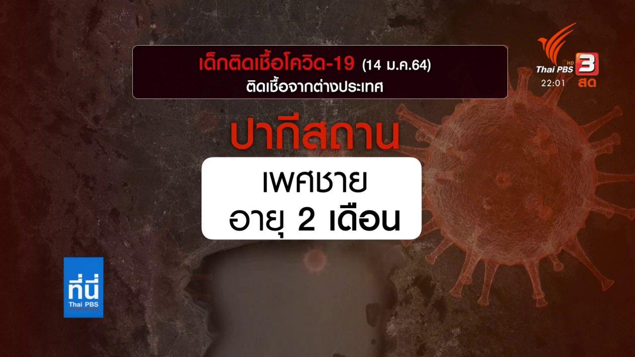 ที่นี่ Thai PBS - โควิดในเด็ก ความเสี่ยงและการป้องกัน