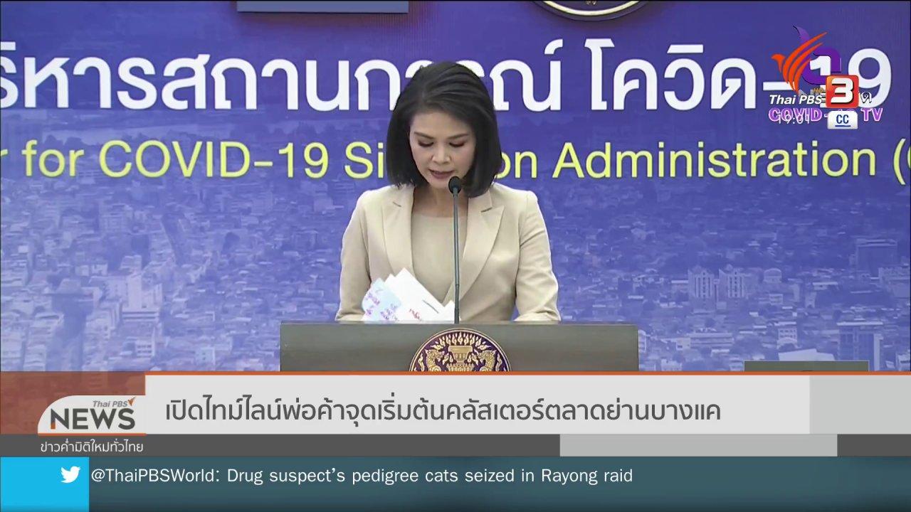 ข่าวค่ำ มิติใหม่ทั่วไทย - เปิดไทม์ไลน์พ่อค้าจุดเริ่มต้นคลัสเตอร์ตลาดย่านบางแค