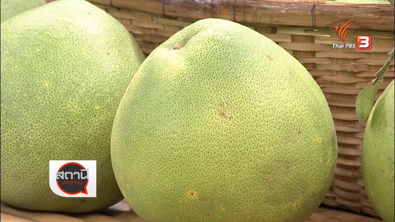 สถานีประชาชน - สถานีร้องเรียน : ชวนเที่ยวสวนผลไม้ ชิมส้มโอขาวใหญ่ ลิ้นจี่ค่อมพันธุ์โบราณ จ.สมุทรสงคราม